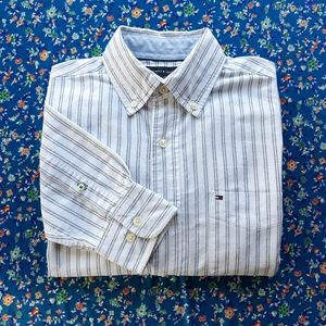 Tommy Hilfiger Long Sleeve Collared Dress Shirt